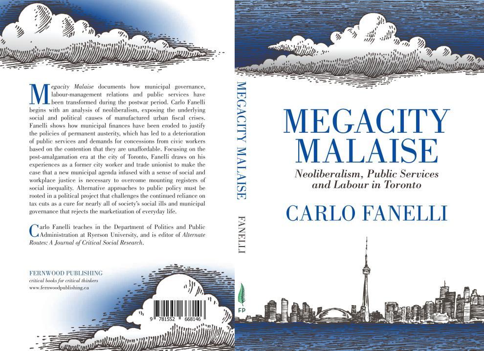 Megacity Malaise Book Jacket
